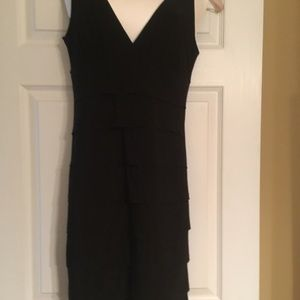 Dresses & Skirts - Little black dress by dress barn collection.